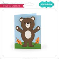 Bobble Head Card Bear 2