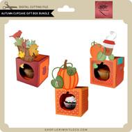 Autumn Cupcake Gift Box Bundle
