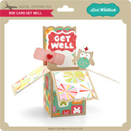 Box Card Get Well