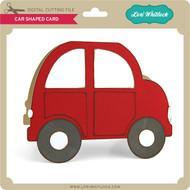 Car Shaped Card