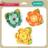 3D Flower Set 10