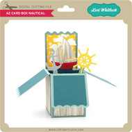 A2 Box Card Nautical