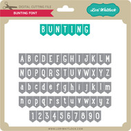 Bunting Font