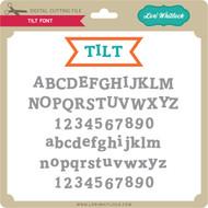 Tilt Font