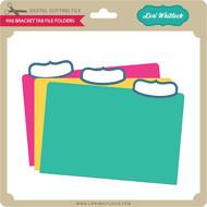 4x6 Bracket File Folders