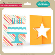 Flip Swing Card Birthday Set