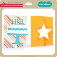 Flip Swing Card Birthday Set