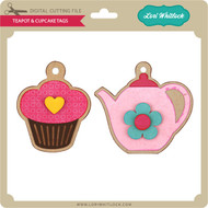 Teapot and Cupcake Tags
