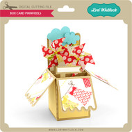 Box Card Pinwheels