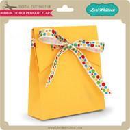 Ribbon Tie Box Pennant Flap