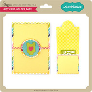 Gift Card Holder Baby