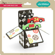 Box Card Race Car