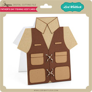 Father's Day Fishing Vest Card