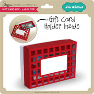 Gift Card Box - Label Top