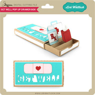 Get Well Pop Up Drawer Box