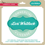 Lori Whitlock Commercial License