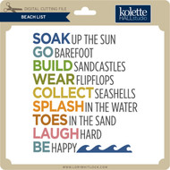 Beach List