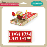 Birthday Wishes Pop Up Drawer Box