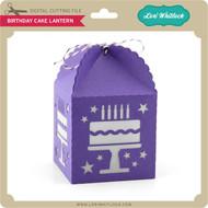 Birthday Cake Lantern