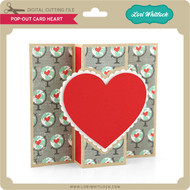 Pop Out Card Heart