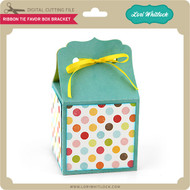 Ribbon Tie Favor Box Bracket