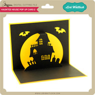 Haunted House Pop Up Card 2