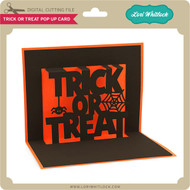 Trick or Treat Pop Up Card