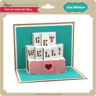 Pop Up Card Get Well