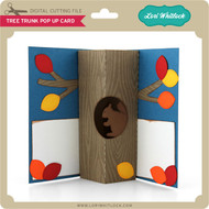 Tree Trunk Pop Up Card
