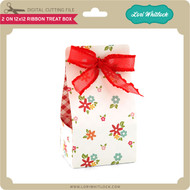2 on 12x12 Ribbon Treat Box