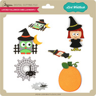 Layered Halloween Embellishments 1
