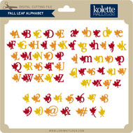 Fall Leaf Alphabet