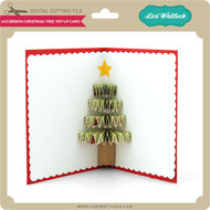 Accordion Christmas Tree Pop Up Card