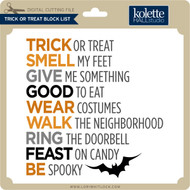 Trick-or-Treat Block List