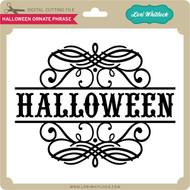 Halloween Ornate Phrase