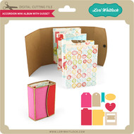Accordion Mini Album with Gusset