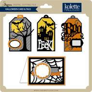 Halloween Card & Tags