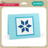 Quilt Star Card 2