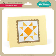 Quilt Star Card