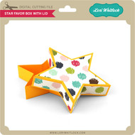 Star Favor Box with Lid