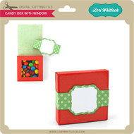 Candy Box With Window