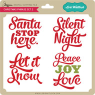 Christmas Phrases Set 2