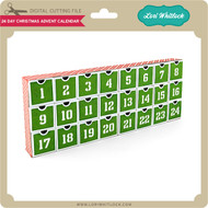 24 Day Christmas Advent Calendar