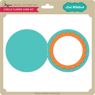 Circle Flower Card Kit