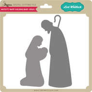 Nativity Mary Holding Baby Jesus