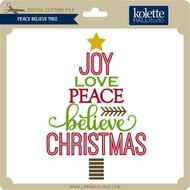 Peace Believe Tree