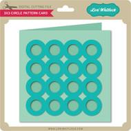 3x3 Circle Pattern Card