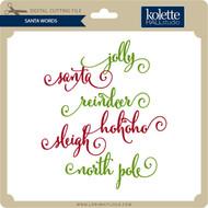 Santa Words