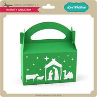 Nativity Gable Box
