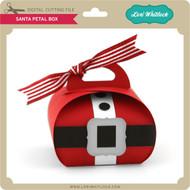 Santa Petal Box